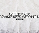 Be inspired by the wedding dress in the new 50 Shades Freed movie.