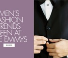 Men's fashion trends seen at the emmy awards 2017