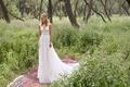 Limor Rosen 2017 Aria wedding dress deep v neck beaded skirt Birds of Paradise collection