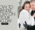 how to handle snow on your wedding day dealing with a snow storm inclement weather