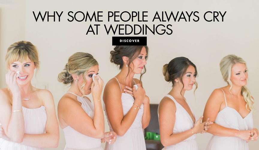 why people cry at weddings