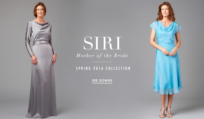 Mother Of The Bride Dresses By Siri Spring 2016