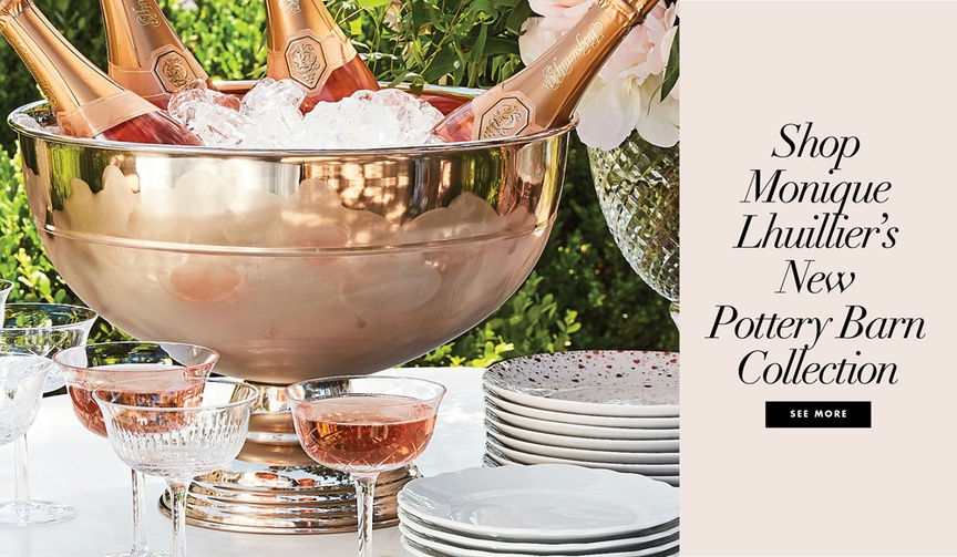 Shop the Monique Lhuillier for Pottery Barn home collection items