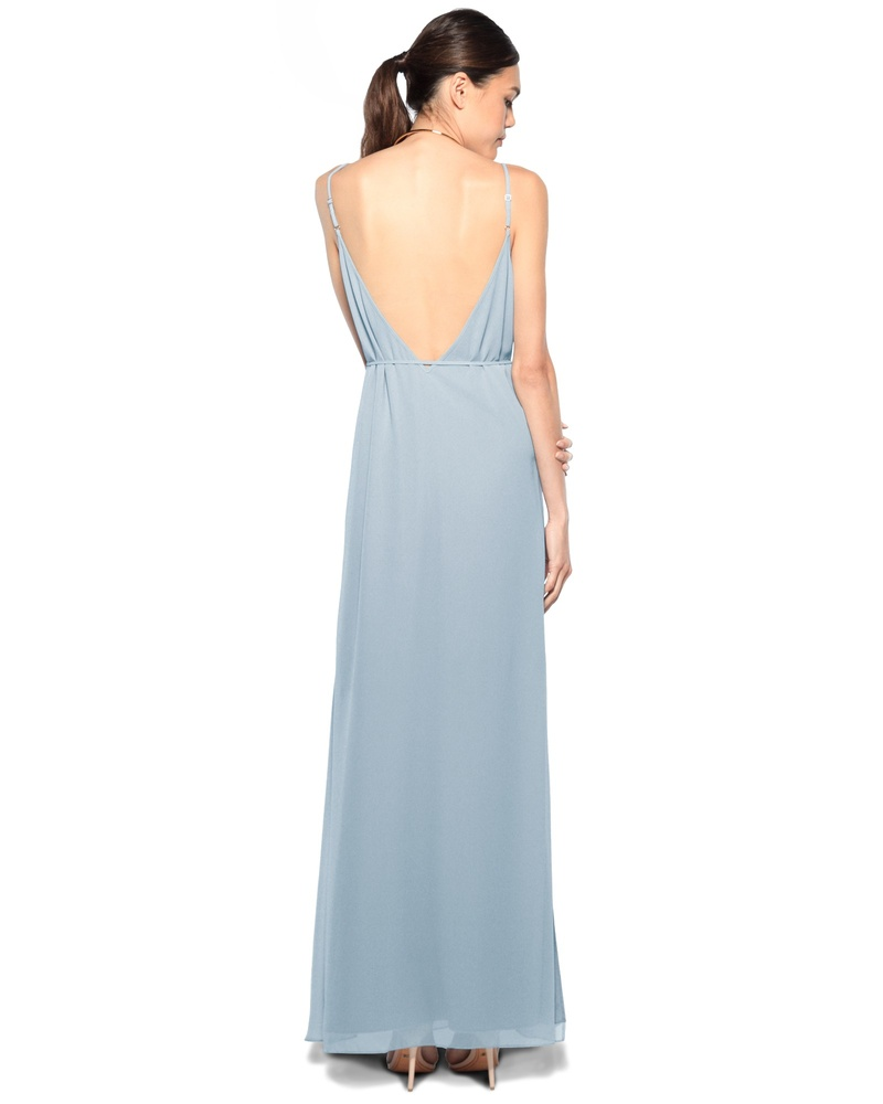 Sleek, sexy and sophisticated, the Tami dress exudes style and confidence. The down-to-there v-back