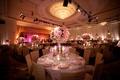 Four Seasons ballroom chandelier and flowers