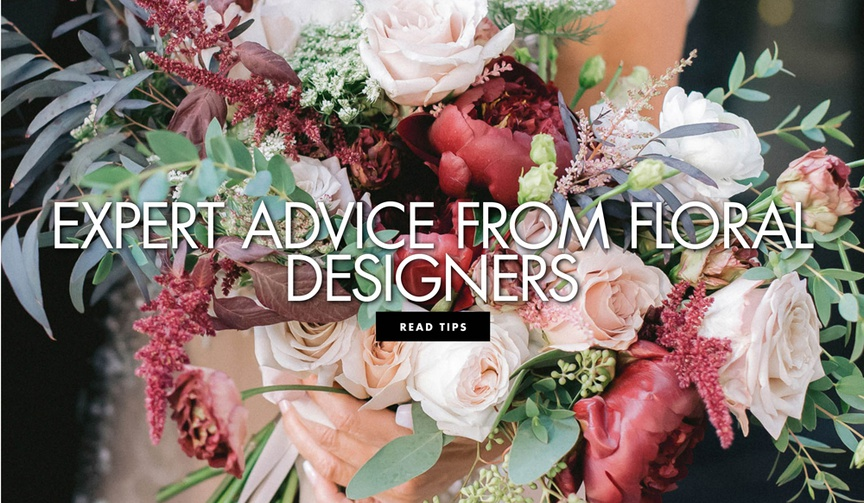expert advice from floral designers on how to prepare for your first flower design meeting