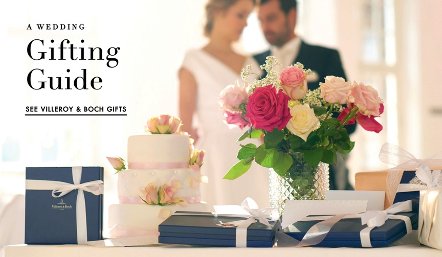 discover wedding registry tips and a gifting guide from villeroy boch