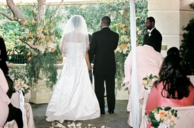 Peninsula Beverly Hills alfresco wedding
