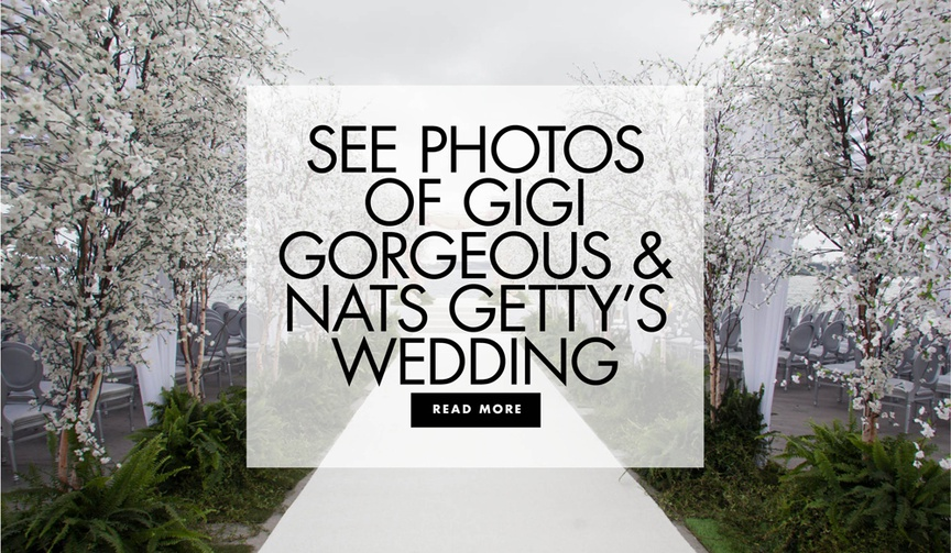 Youtube star Gigi Gorgeous and Nats Getty's wedding