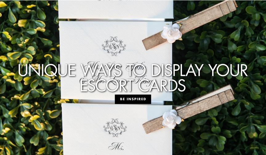 unique ways to display your escort cards wedding reception cocktail hour ideas