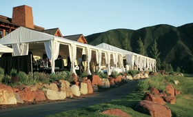Wedding reception at the Roaring Fork Club