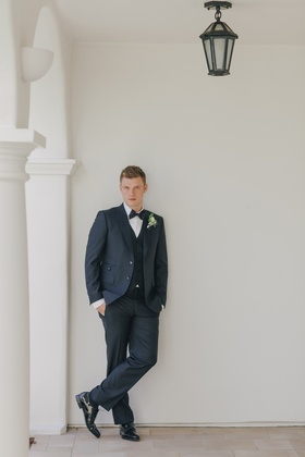 Backstreet Boys singer in three-piece tuxedo