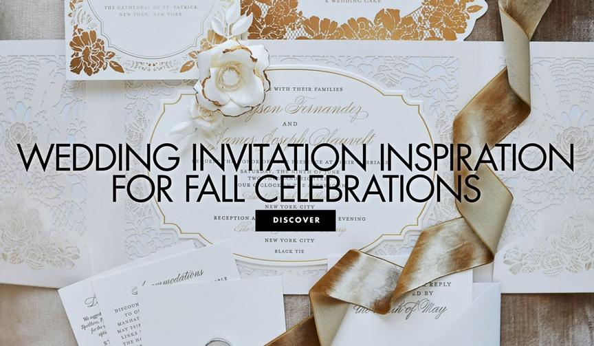 wedding invitation inspiration for fall celebrations fall wedding ideas