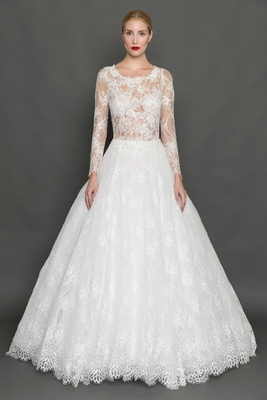 Long Sleeved Wedding Dresses.Bridal Gowns Long Sleeve Wedding Dresses For Brides