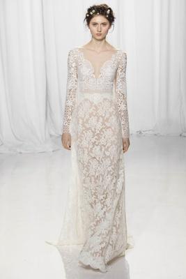 Bridal Gowns: Long Sleeve Wedding Dresses for Brides - Inside Weddings