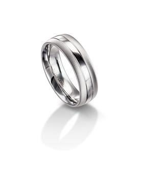 Furrer Jacot 71-26280 platinum wedding band