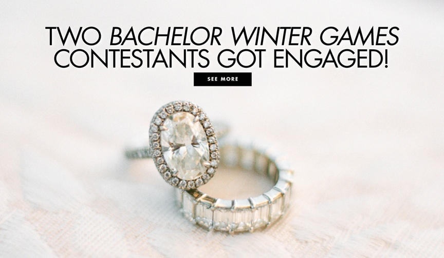 Two Bachelor Winter Games contestants got engaged clare