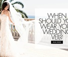 When should you wear your wedding veil