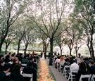 Wedding ceremony in the garden of Marie Gabrielle