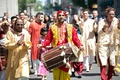 drummer leads Indian Baraat