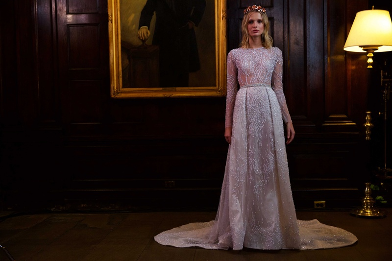 Unique, Material-Inspired Wedding Dresses from Berta Fall/Winter ...