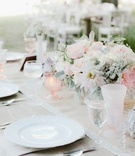 Katrina Hodgson wedding reception with light pink details