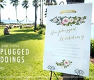 pros and cons of having an unplugged wedding with no guests taking pictures or as to turn off phones
