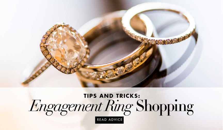 how to shop for your own engagement ring
