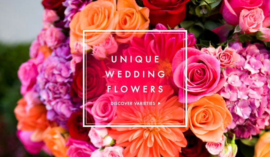 Wedding flower ideas that are unique and unheard of