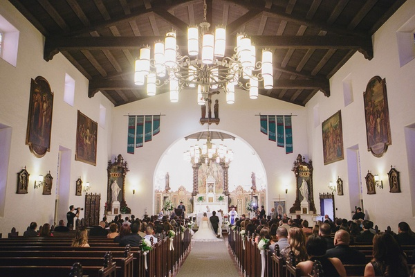 Interior of St. Elizabeth Parish in Simi Valley, California