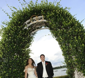 Disney's Fairy Tale Weddings couple in Florida