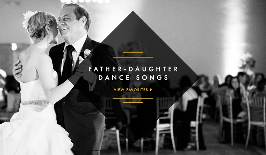 Songs for your wedding father daughter dance