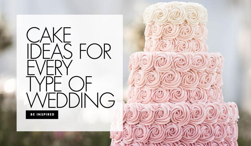 cake ideas for every type of wedding decor inspiration ideas