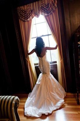 Back of Ines Di Santo Swarovski crystal dress