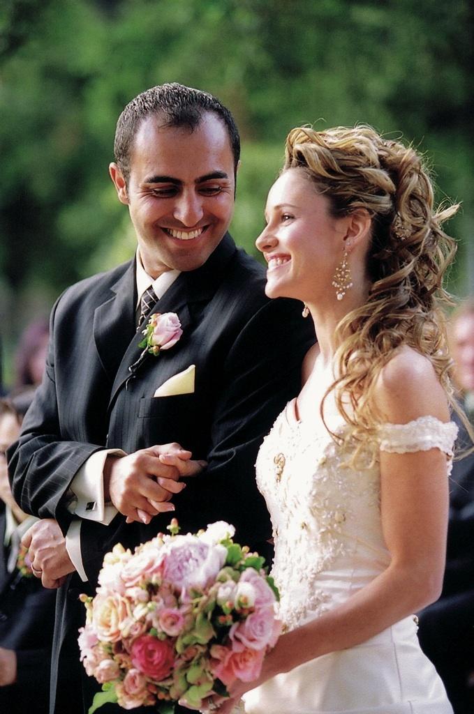 Couples Photos - Vintage Wedding Couple - Inside Weddings