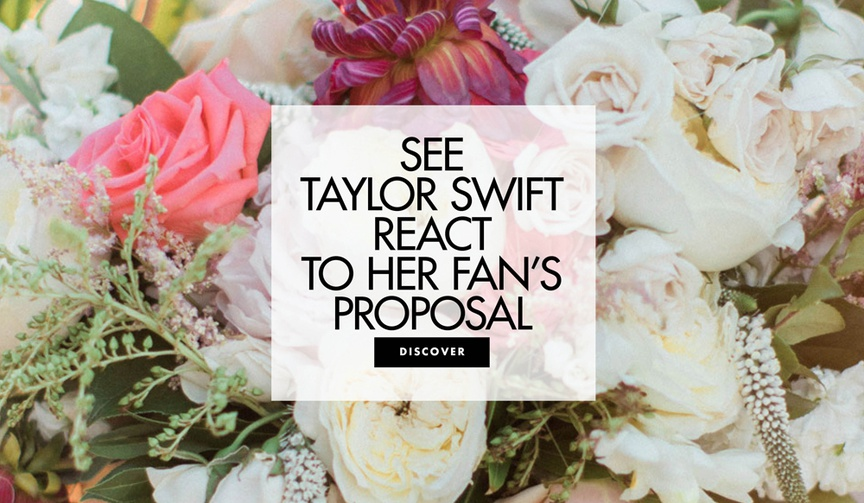 See this couple get engaged at a meet and greet with Taylor Swift.