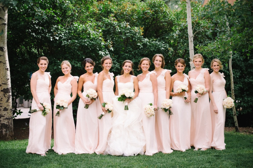 Bridesmaid Dress Etiquette and More from Anna Post