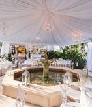 Tent wedding reception for The Real Housewives of New York City's Luann de Lesseps
