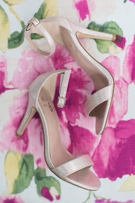 mix no 6 bridal shoes, affordable bridal showers, sparkling metallic bridal shoes