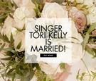 Tori Kelly and André Murillo wedding, tori kelly wedding dress