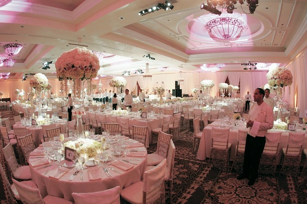 glitzy ballroom wedding at the st regis monarch beach