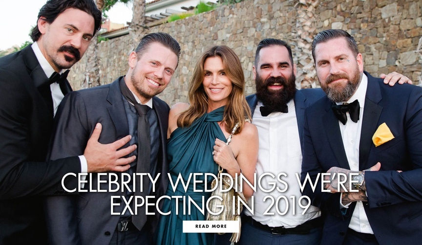 Celebrity weddings we're expecting in 2019