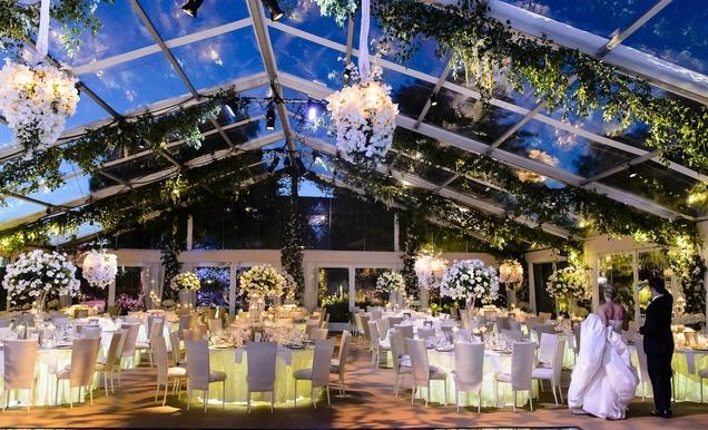 Impressive Colorado Wedding Over An Olympic Sized Pool Inside Weddings