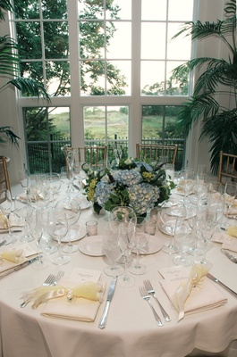 ... White classic wedding reception table decorations ... : greek table setting decorations - Pezcame.Com