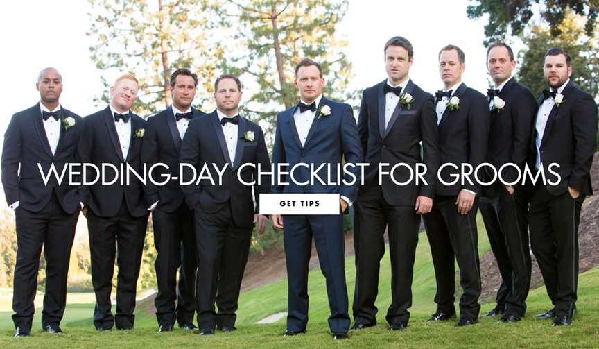 An expert provides his suggestions to help the groom.