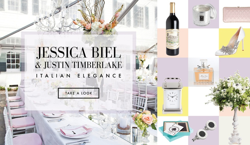 Jessica Biel Justin Timberlake wedding ideas