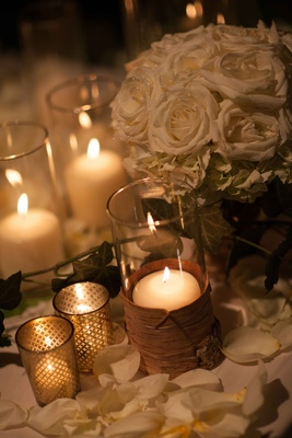candles in wedding