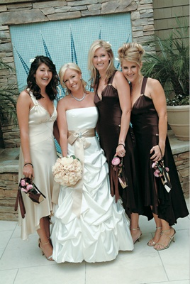 Bridesmaid and maid of honor dresses