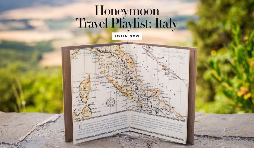 honeymoon travel plane ride playlist songs italy italian music dean martin andrea bocelli wedding