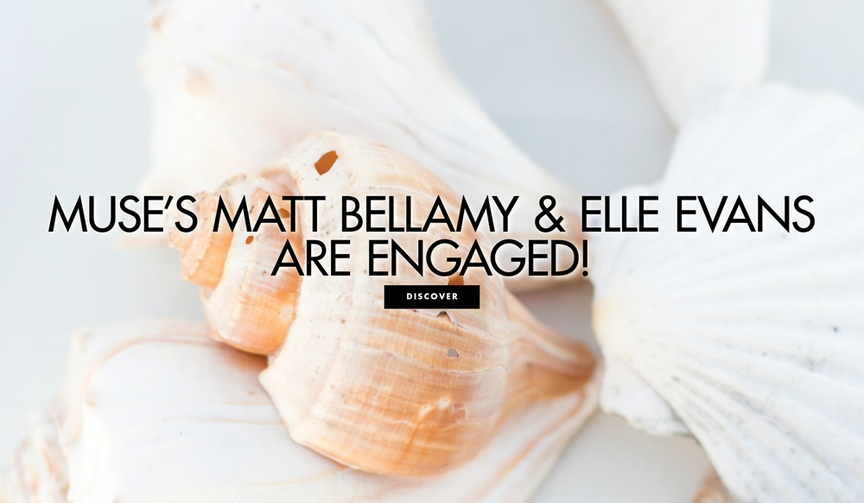 muse matt bellamy and elle evans engaged, elle evans engagement ring